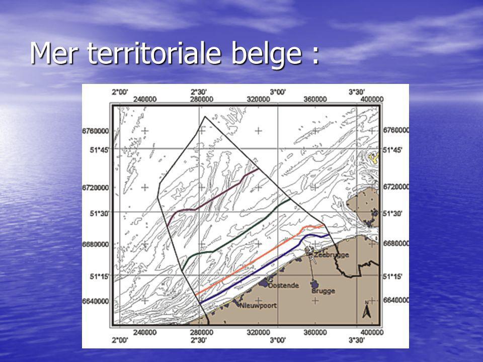Mer territoriale belge :
