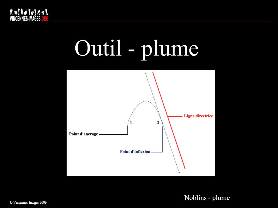 Outil - plume © Vincennes Images 2009 Noblins - plume
