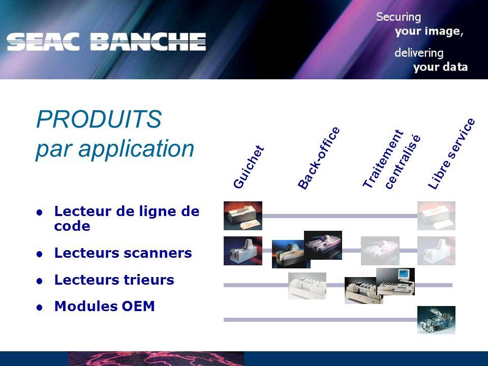 Lecteur de ligne de code Lecteurs scanners Lecteurs trieurs Modules OEM PRODUITS par application