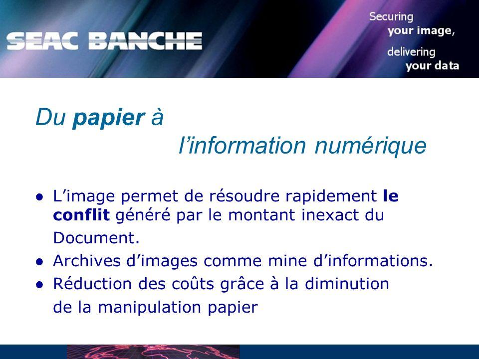 Limage permet de résoudre rapidement le conflit généré par le montant inexact du Document.