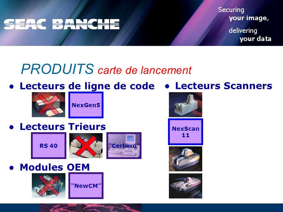 Lecteurs de ligne de code Lecteurs Trieurs Modules OEM PRODUITS carte de lancement NexGen5 RS 40 NewCM NexScan 11 Lecteurs Scanners Cerbero