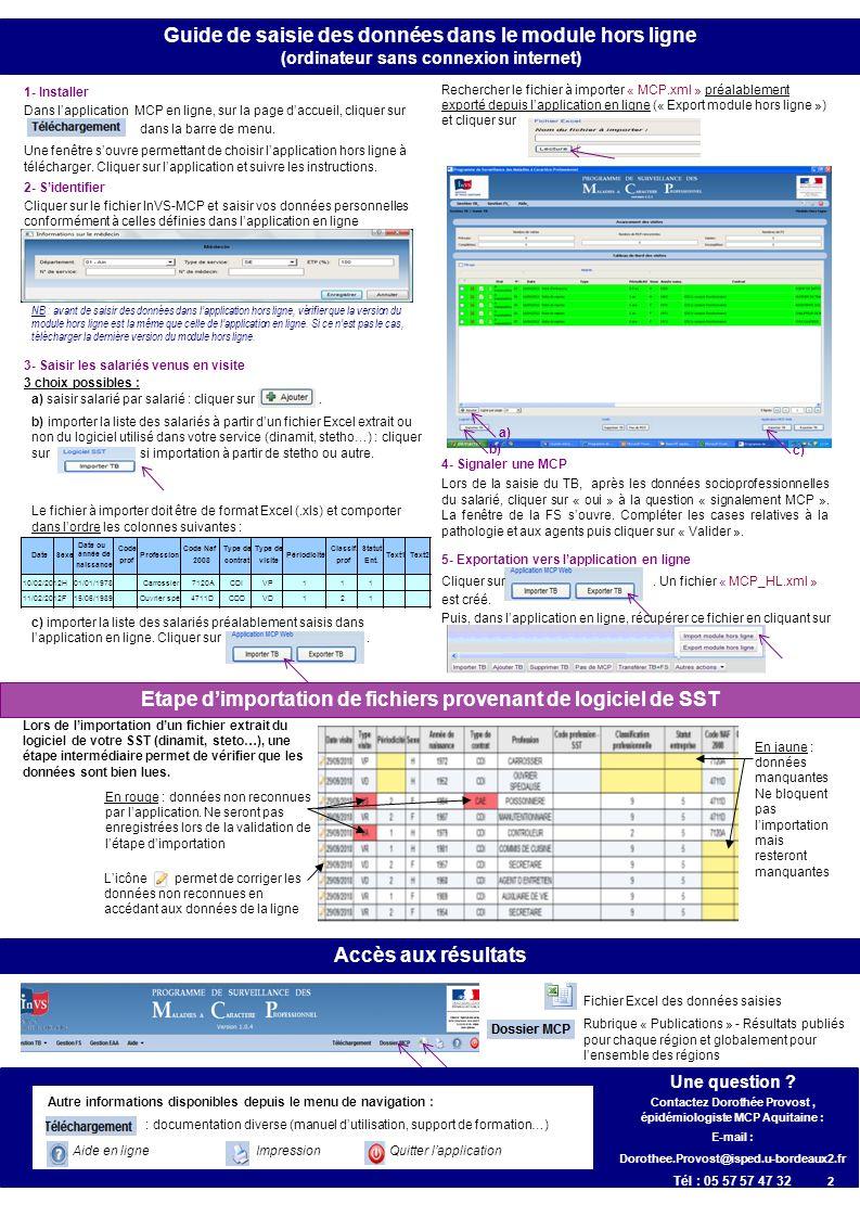 a) saisir salarié par salarié : cliquer sur. b) importer la liste des salariés à partir dun fichier Excel extrait ou non du logiciel utilisé dans votr