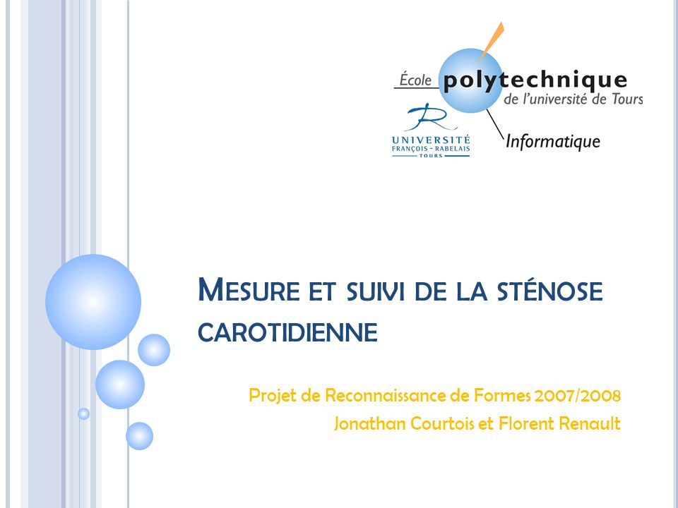 C ONCEPTS DE RECONNAISSANCE DES FORMES Gray-Scale Median Analysis and Color Mapping(2) 06/05/2014 12 Jonathan Courtois & Florent Renault