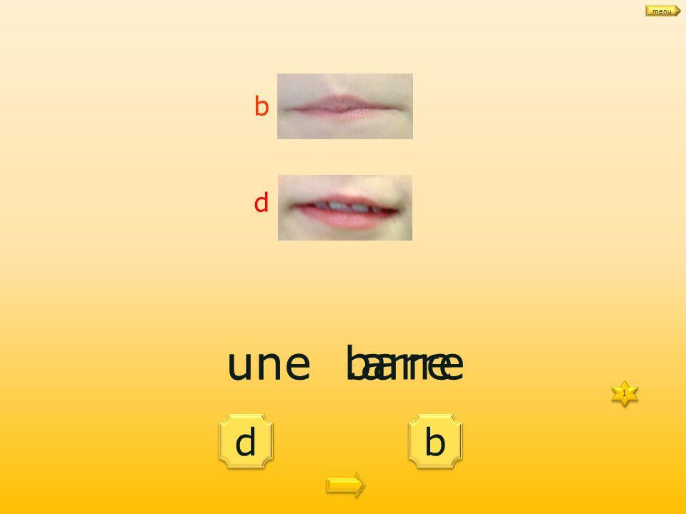 d d b b une.arre 1 1 b d une barre menu
