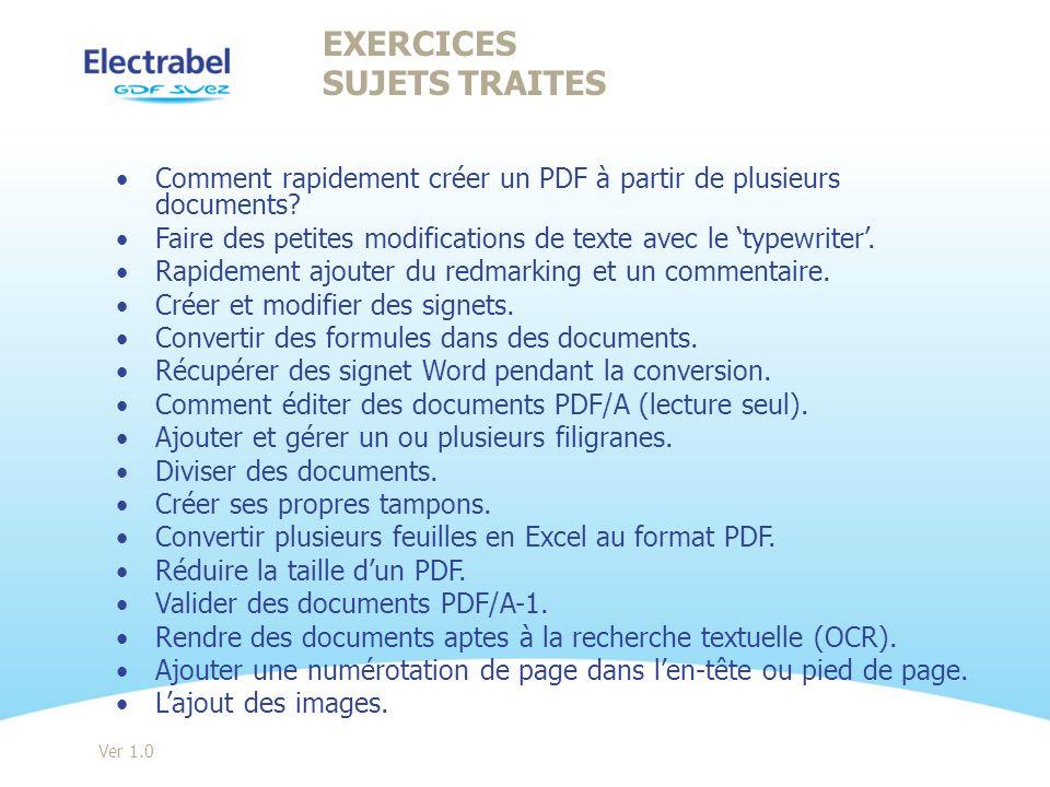 Comment rapidement créer un PDF à partir de plusieurs documents? Faire des petites modifications de texte avec le typewriter. Rapidement ajouter du re