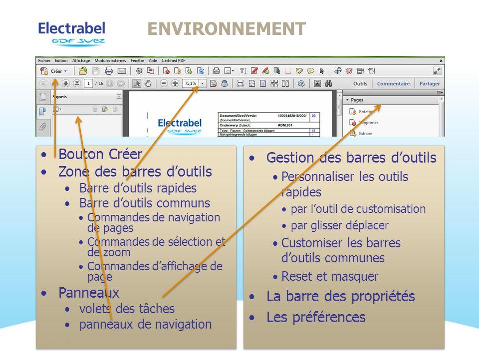 Noodzaak om kwaliteitsdocumenten te kunnen bewaren en te beheren Keuze voor een electronisch formaat dat een exacte copie en print-out biedt en dus garant staat voor een correcte inhoud en opmaak Wyiswyg formaat, onafhankelijk van om het even welk medium (printer, scherm, pda,,..) Veilig en onveranderbaar formaat Tijdsbestedig formaat Open ISO standaard Ver 1.0 WAAROM PDF @ ELECTRABEL?