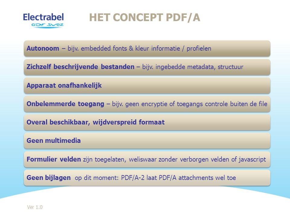 PDF/A – CONCEPT Ver 1.0
