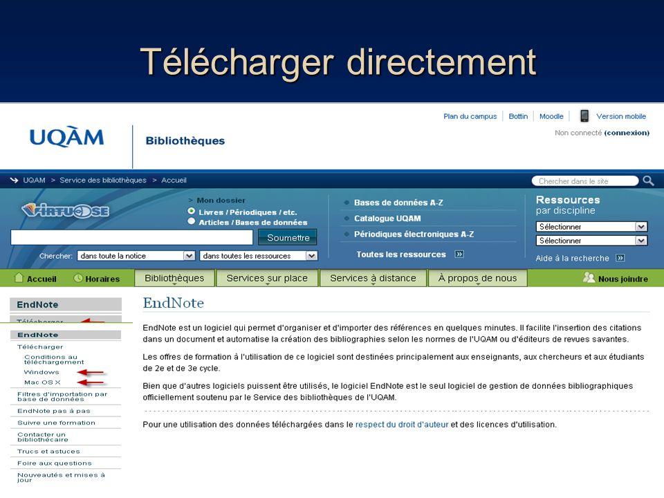 « Edit & manage Citation » 98