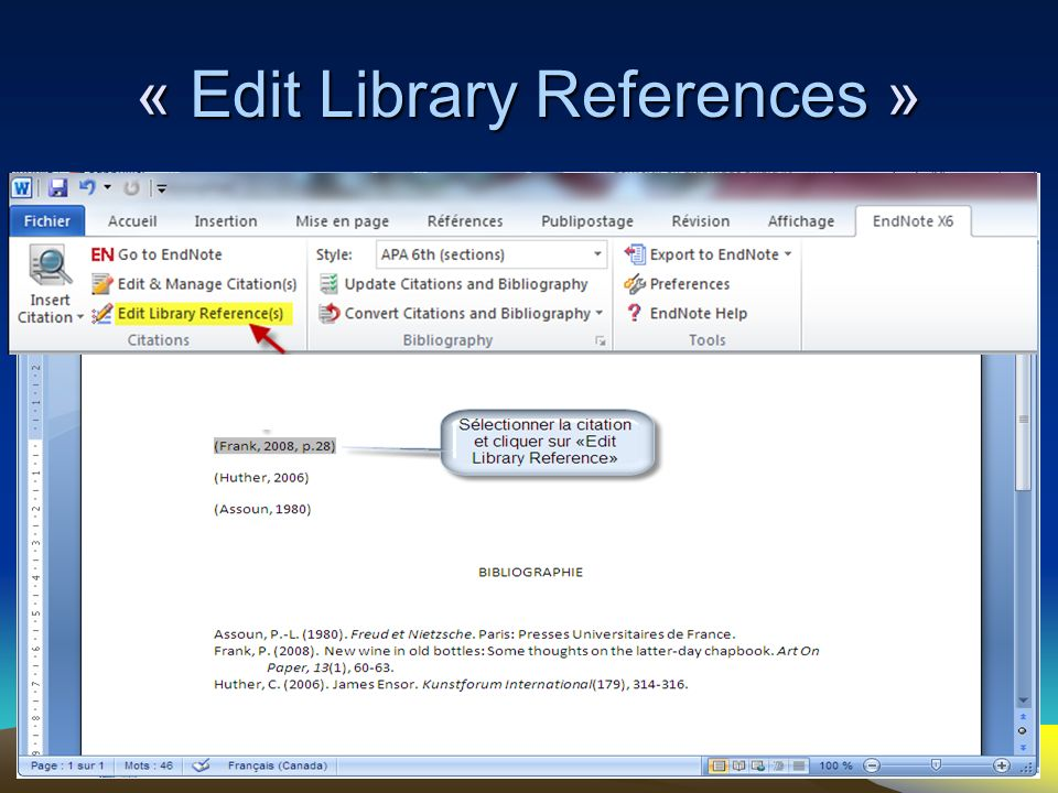 99 « Edit Library References »