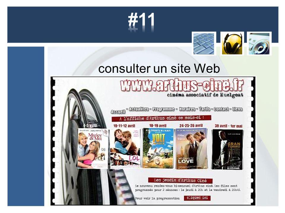 consulter un site Web