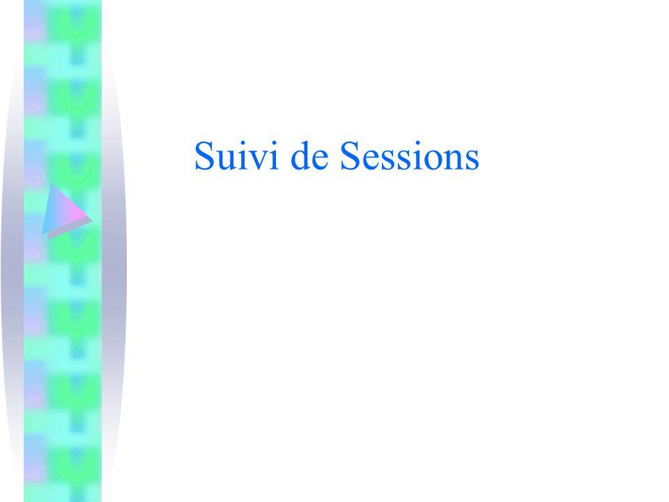 Suivi de Sessions