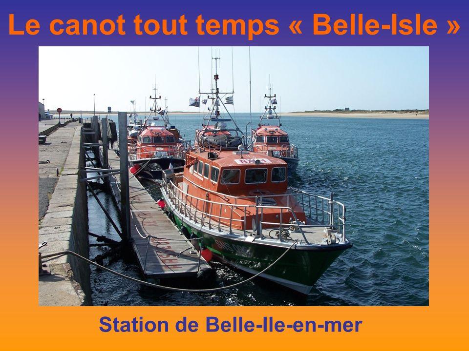 Le canot tout temps « Belle-Isle » Station de Belle-Ile-en-mer