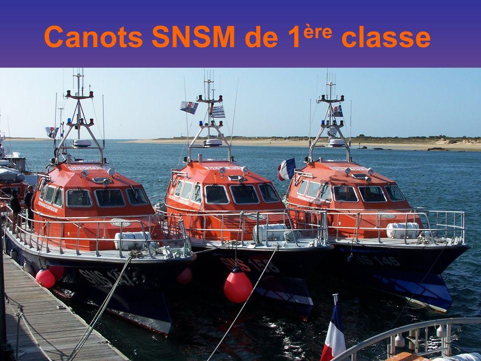 Canots SNSM de 1 ère classe