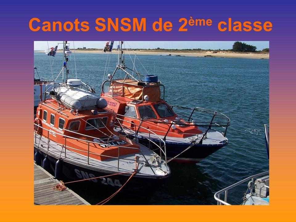 Canots SNSM de 2 ème classe