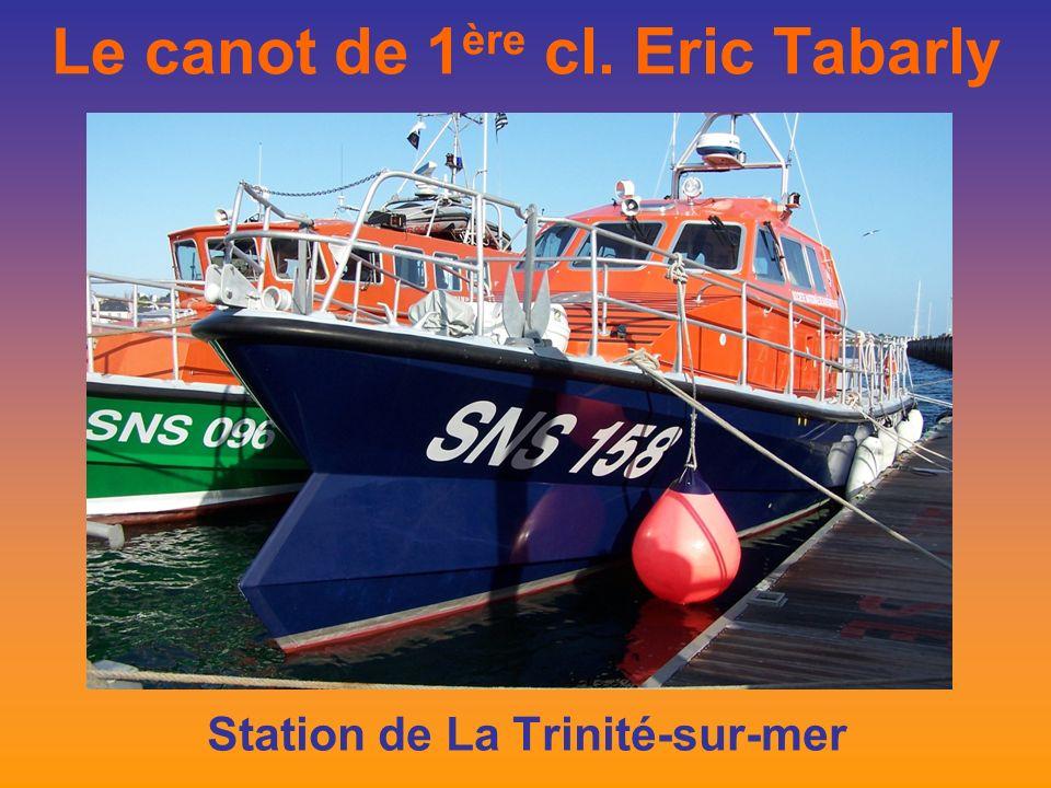 Le canot de 1 ère cl. Eric Tabarly Station de La Trinité-sur-mer