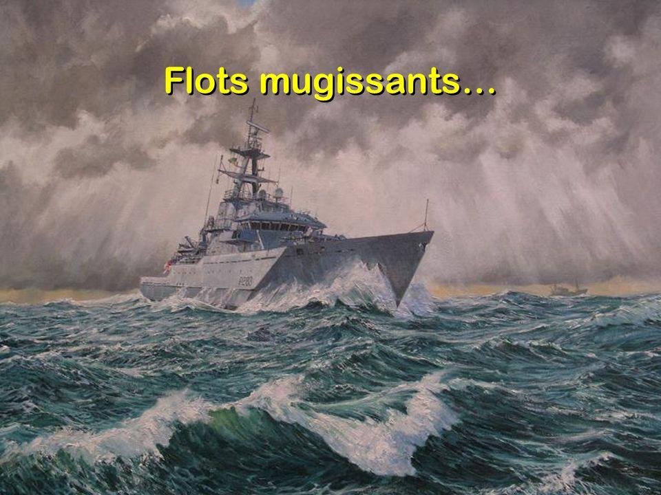 Flots mugissants…