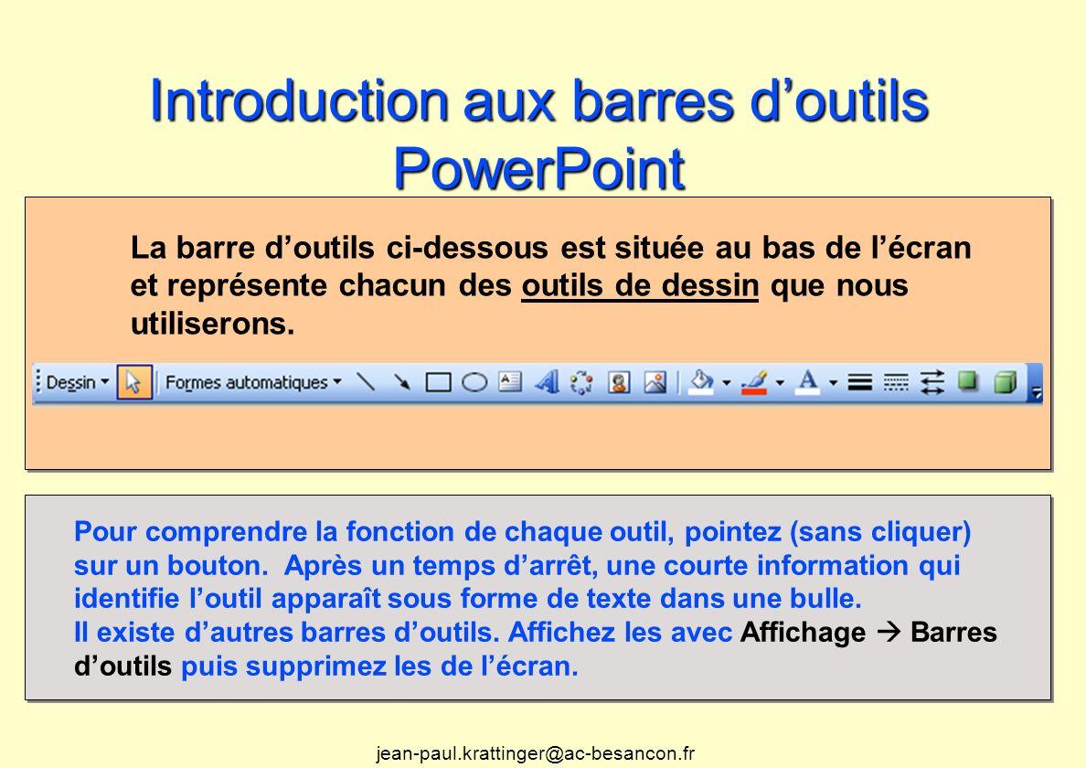 Modification de la palette de couleurs des diapositives Les palettes de PowerPoint utilisent 8 couleurs et le logiciel offre également des couleurs complémentaires.