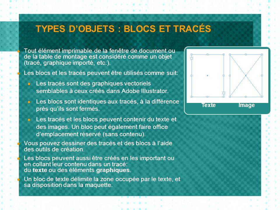LES COULEURS (2) La palette nuancier affiche également des petits carrés qui indiquent le système colorimétrique et le caractère dimpression de l objet sélectionné à côté des couleurs affichées dans la palette.