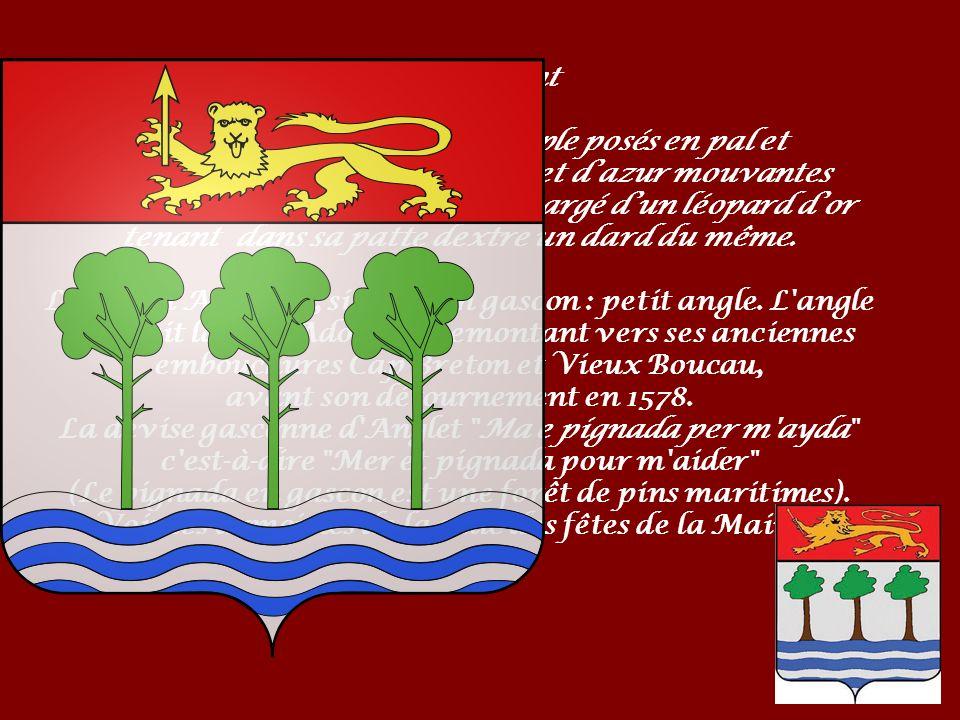 Anglet s étend sur une plaine, entre la mer et l embouchure de l Adour.