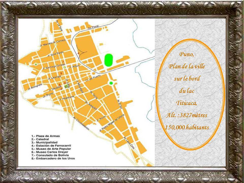 Juliaca, ville de transit pour les marchandises venant de la Bolivie.