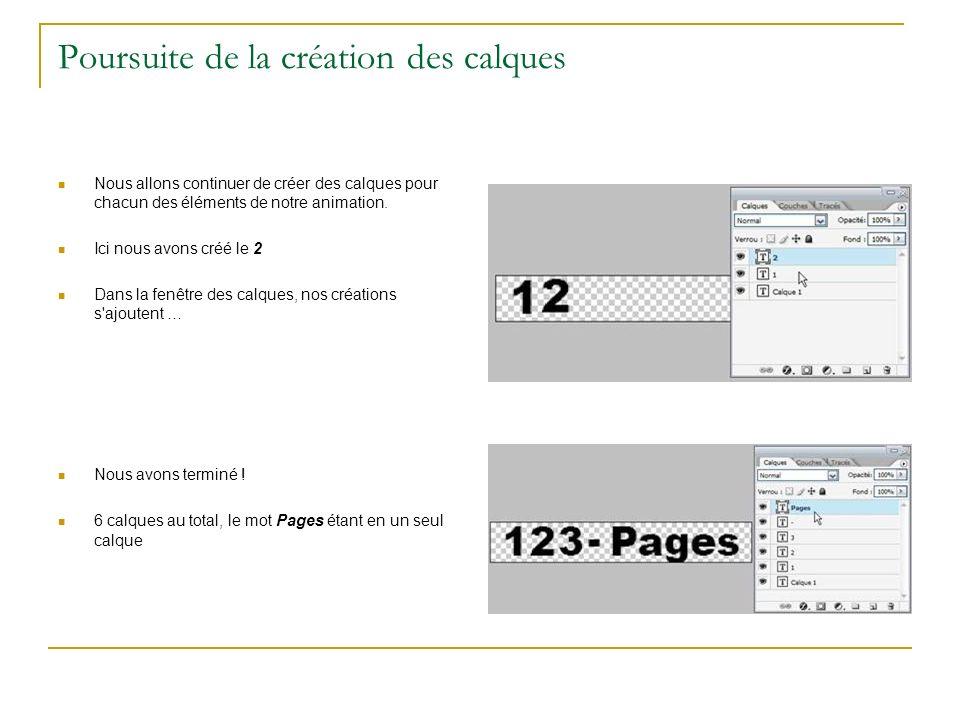 Générer les images entre deux positions.Nous avons la configuration ci-contre.
