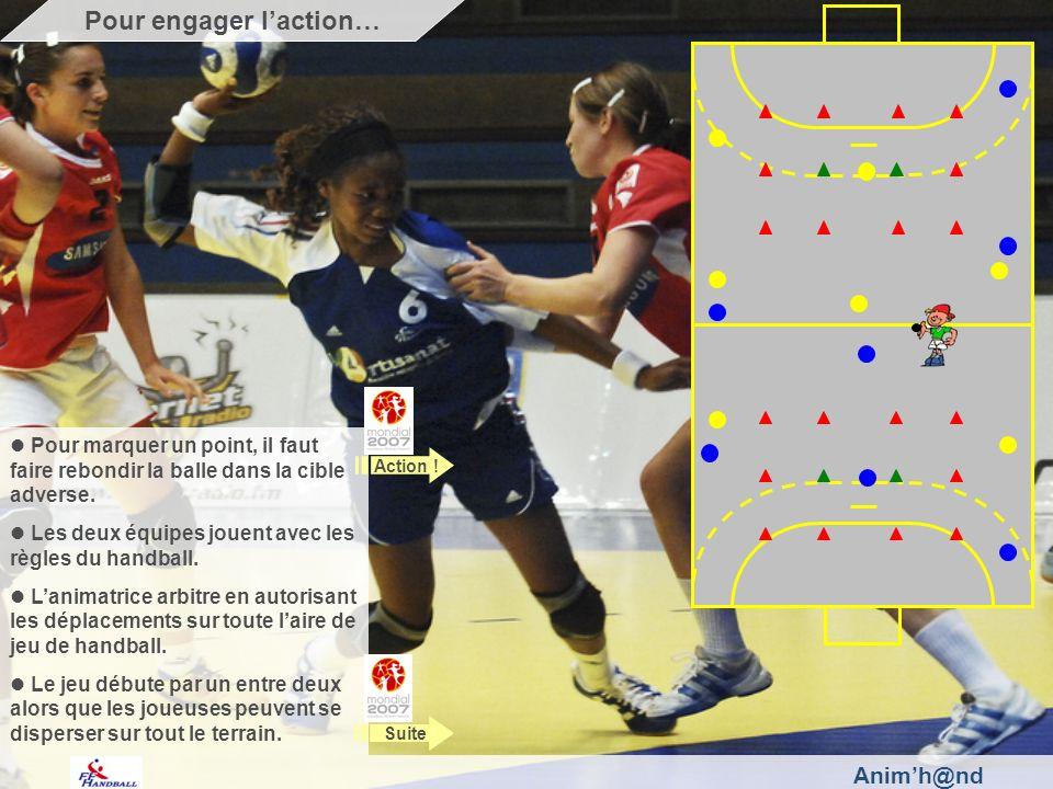 Animh@nd Arbitrez lopposition et validez les points quand la balle passe à rebond dans les cibles.