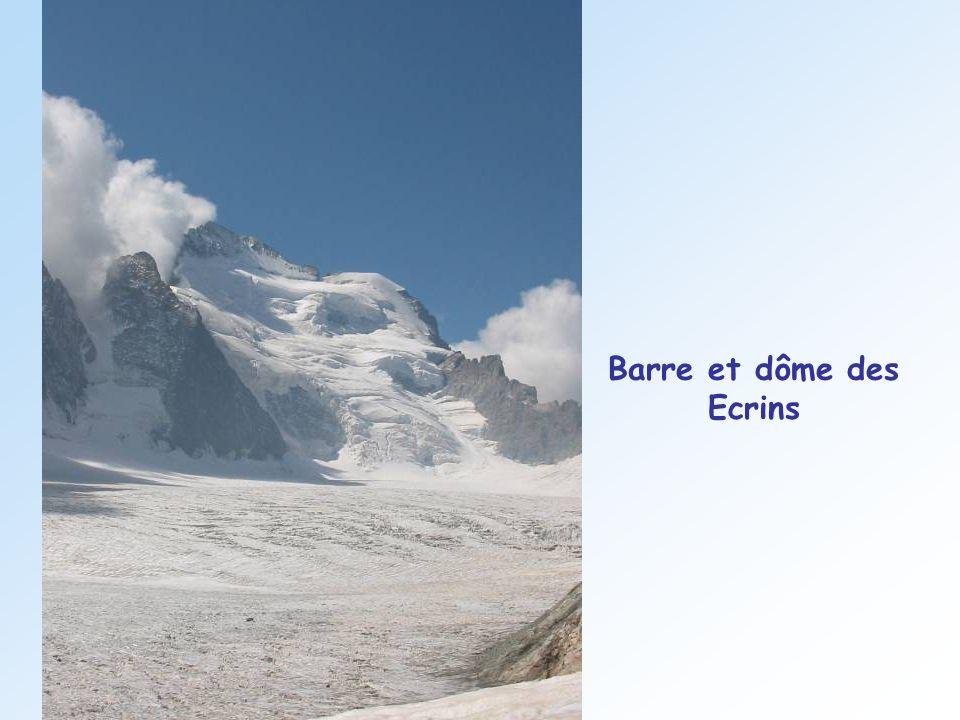Barre et dôme des Ecrins