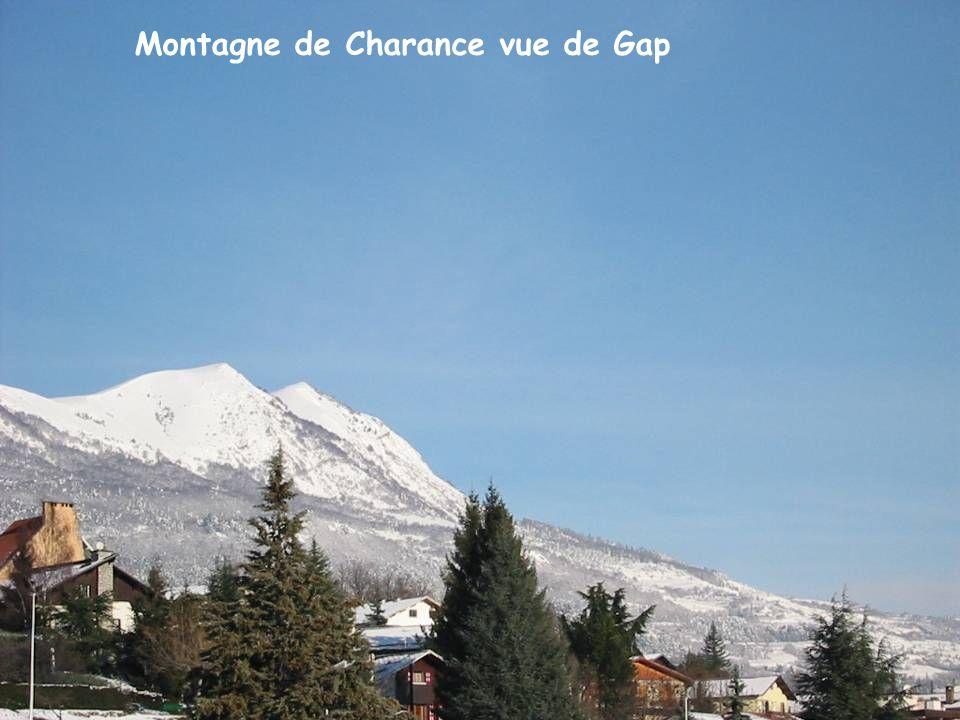 Montagne de Charance vue de Gap