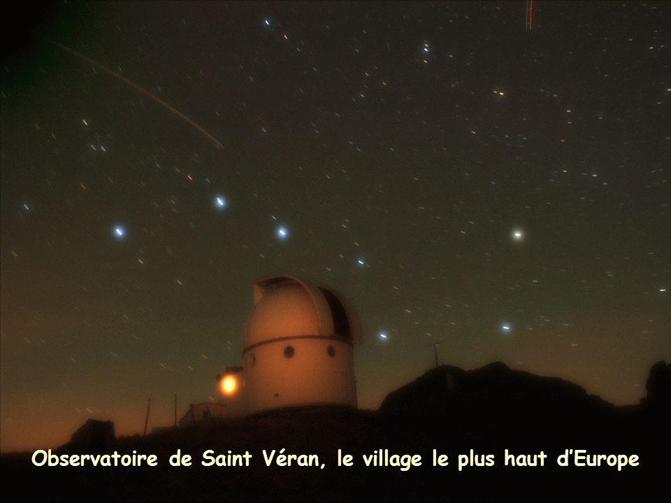 Observatoire de Saint Véran, le village le plus haut dEurope
