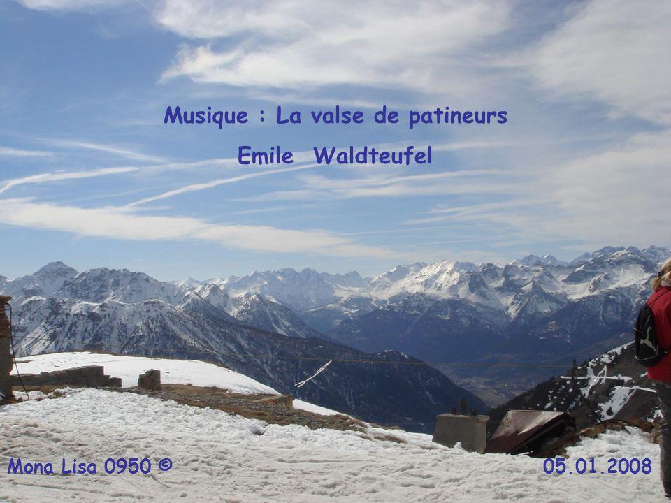 Musique : La valse de patineurs Emile Waldteufel Mona Lisa 0950 © 05.01.2008
