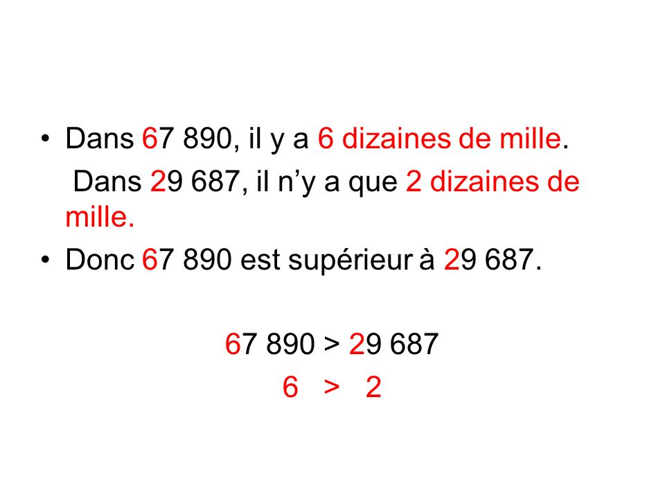 mille unités cducdu 100 00010 0001 000100101 529890 529987 Les 2 nombres ont 6 chiffres.