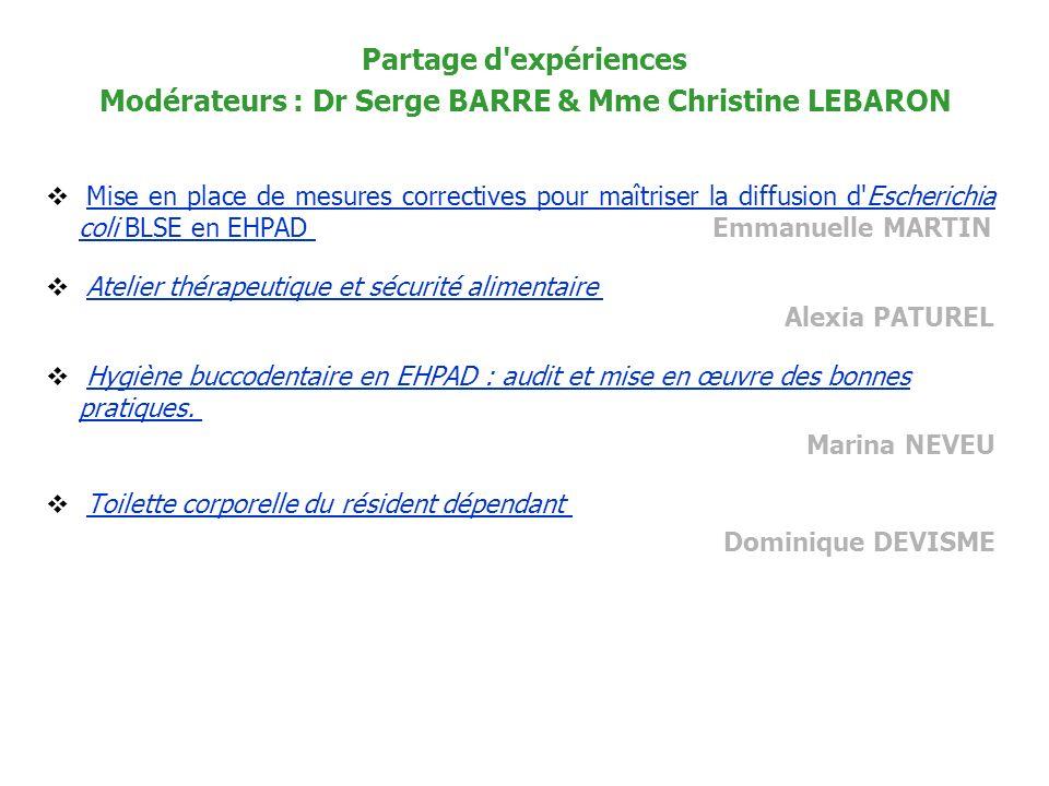 Mise en place de mesures correctives pour maîtriser la diffusion d'Escherichia coli BLSE en EHPAD Emmanuelle MARTIN Mise en place de mesures correctiv