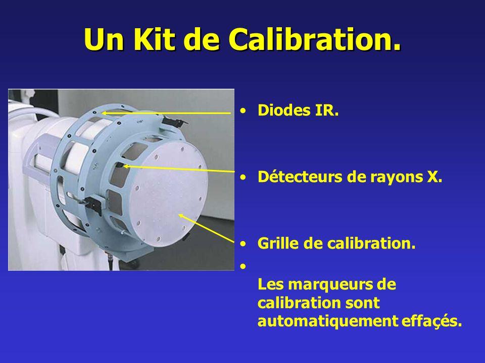 Un Kit de Calibration.Diodes IR. Détecteurs de rayons X.