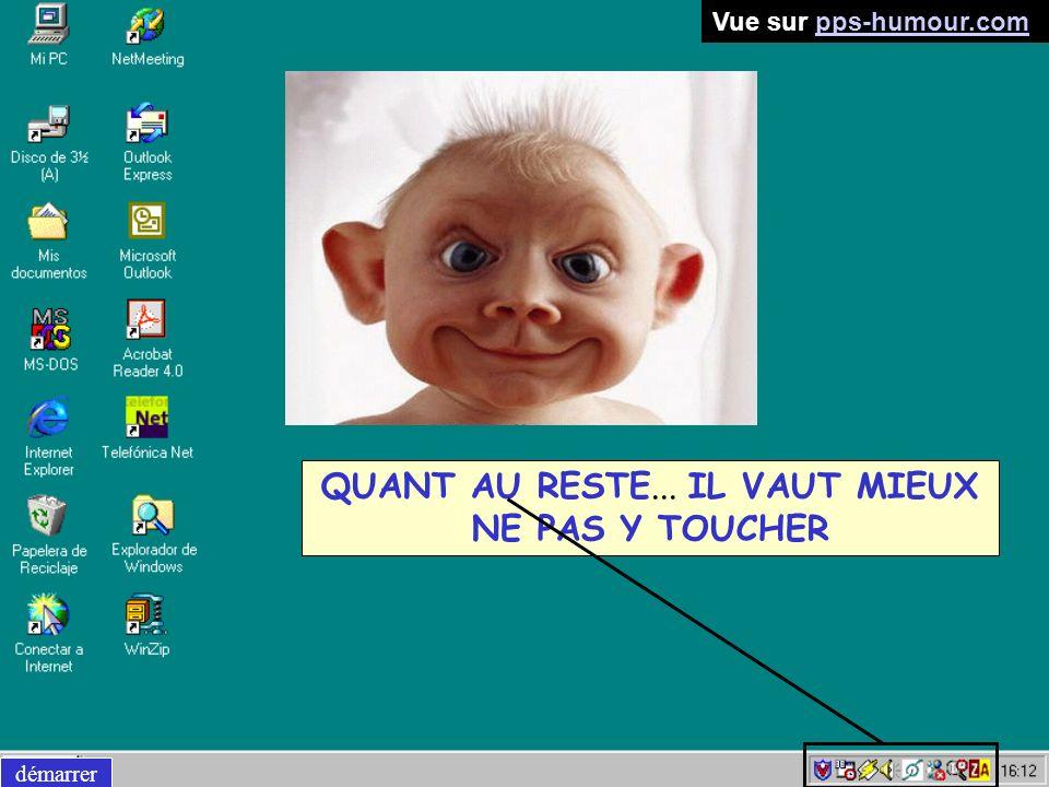 QUANT AU RESTE... IL VAUT MIEUX NE PAS Y TOUCHER démarrer Vue sur pps-humour.compps-humour.com