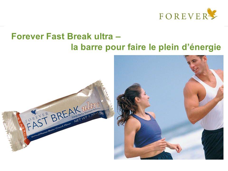 Forever Fast Break ultra – la barre pour faire le plein dénergie