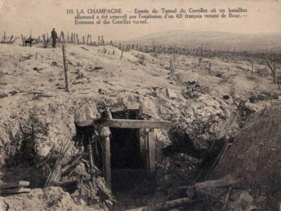 Cest ainsi que le 26 janvier 1915, après avoir bourré dexplosif deux chambres souterraines situées aux extrémités des deux galeries de mines de 22 et