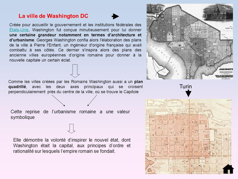 Créée pour accueillir le gouvernement et les institutions fédérales des États-Unis, Washington fut conçue minutieusement pour lui donner une certaine