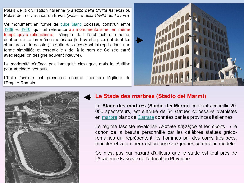 Palais de la civilisation italienne (Palazzo della Civiltà Italiana) ou Palais de la civilisation du travail (Palazzo della Civiltà del Lavoro) Ce mon
