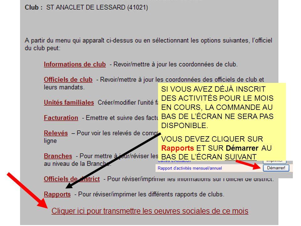 QUAND IL NY A AUCUNE MODIFICATION À LEFFECTIF DU CLUB, ON CLIQUE…