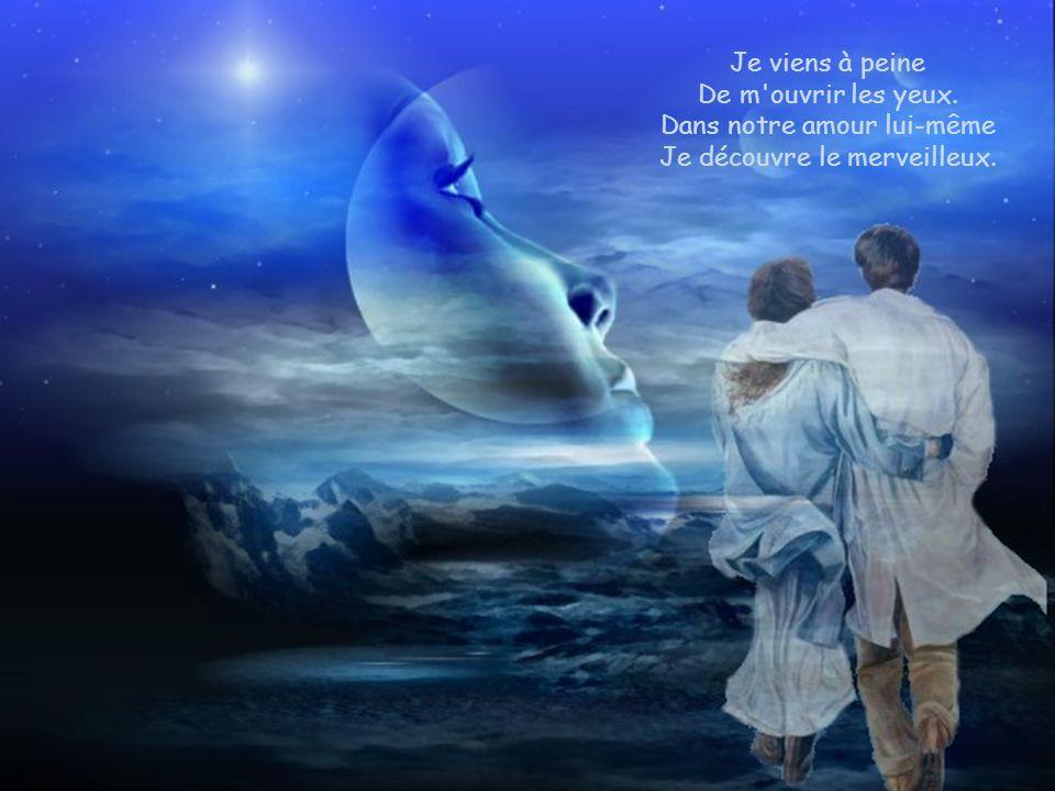 Il ne faut pas regarder Que la laideur en ce monde Mais plutôt faire naître Un amour qui abonde.