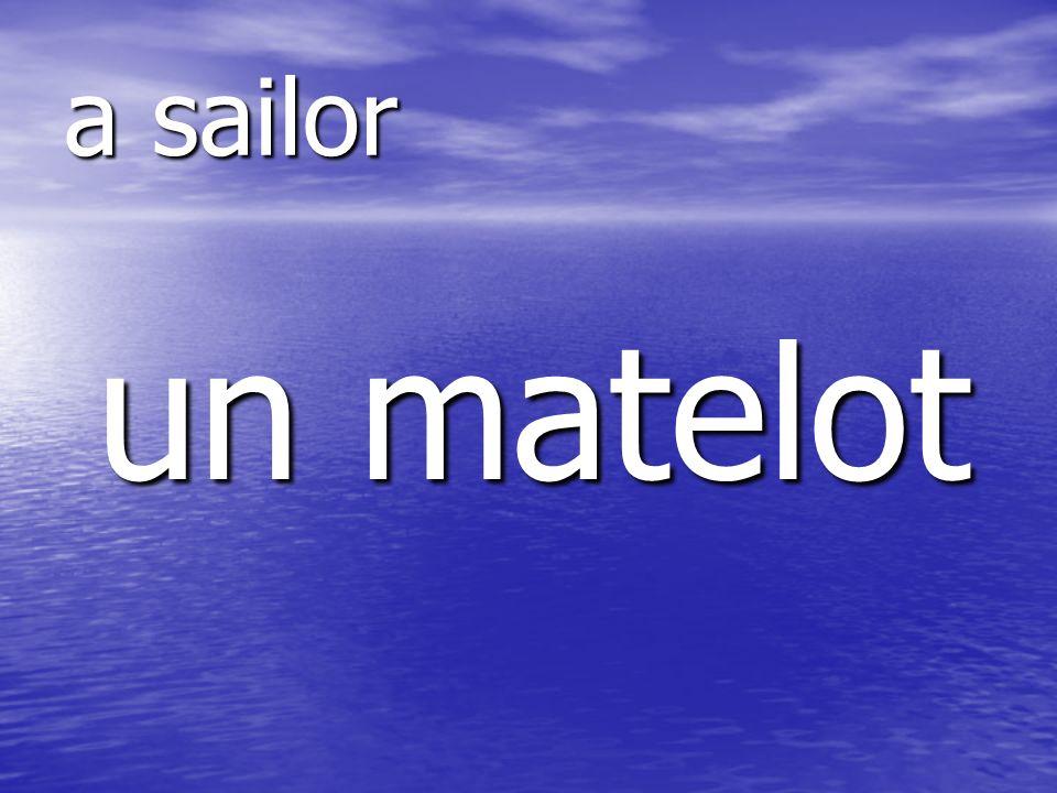 un matelot a sailor