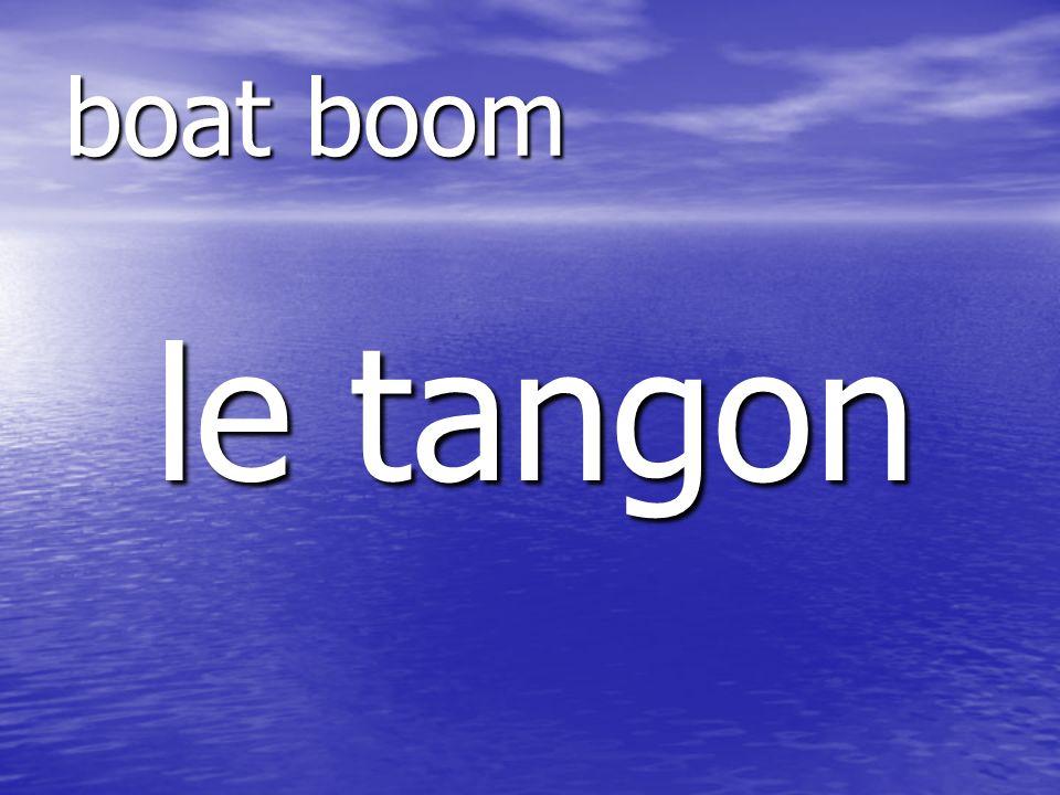 le tangon boat boom