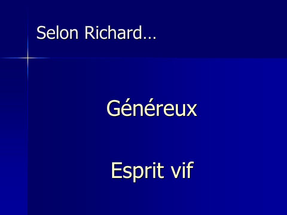 Selon Michel P… Placide