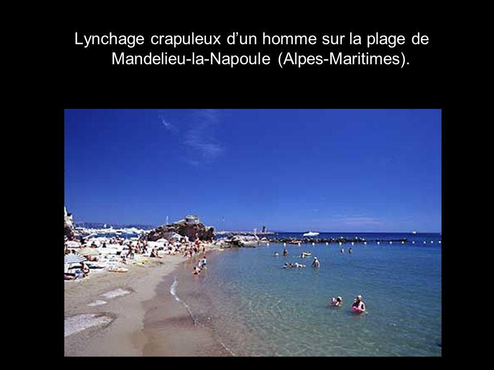Le journal « La Provence » remarque « linquiétante flambée des actes de violence gratuite » à Aix-en- Provence (Bouche-du-Rhône), ville pourtant réputée paisible par rapport à sa voisine Marseille.