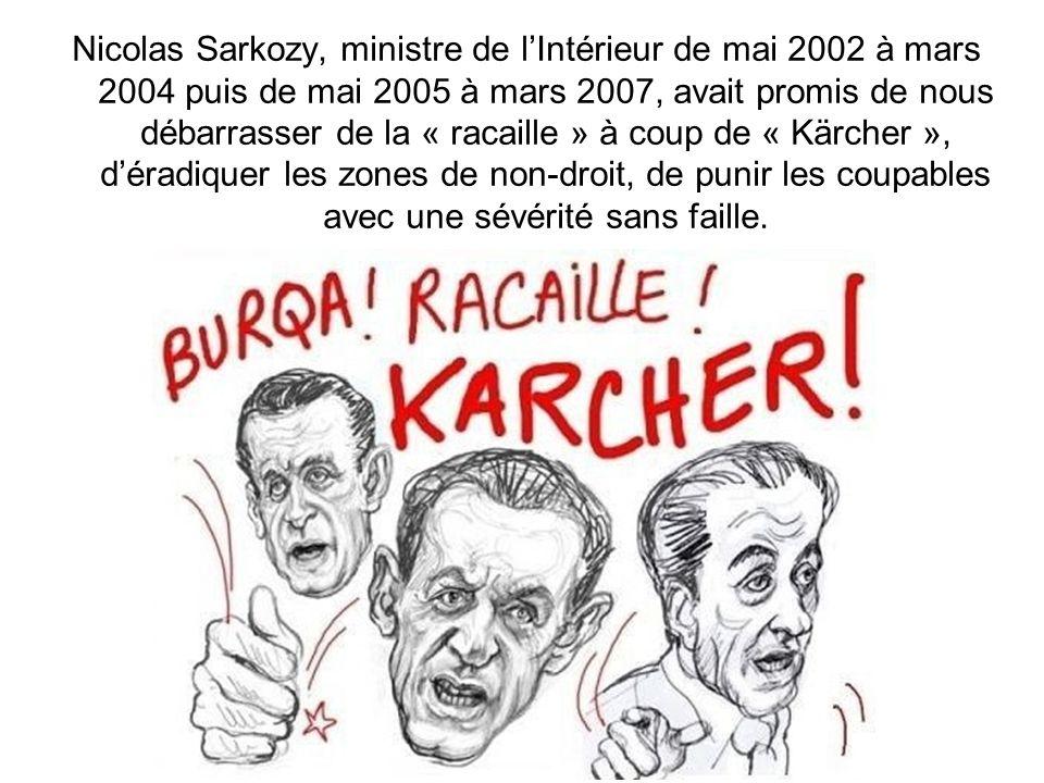 Aucun Français ne peut donc croire que la délinquance stagne ou est en baisse, comme lannonce régulièrement le gouvernement à partir de chiffres pro d
