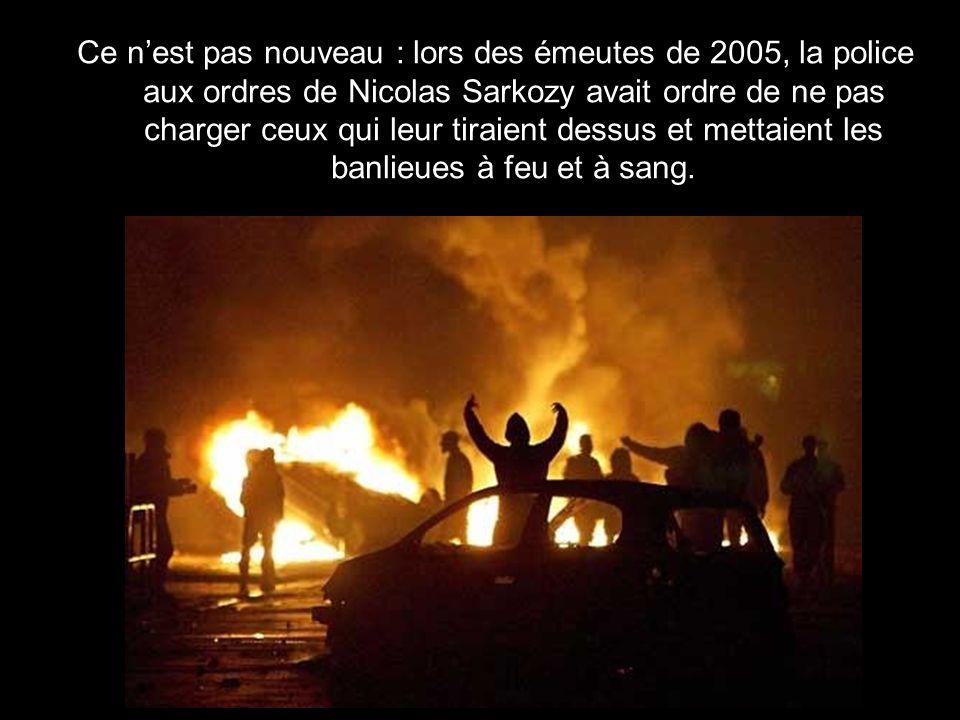 Michèle Alliot-Marie, quand elle était son ministre de lIntérieur, a avoué donner des ordres aux policiers pour ne pas poursuivre les délinquants en scooter ou en voiture.