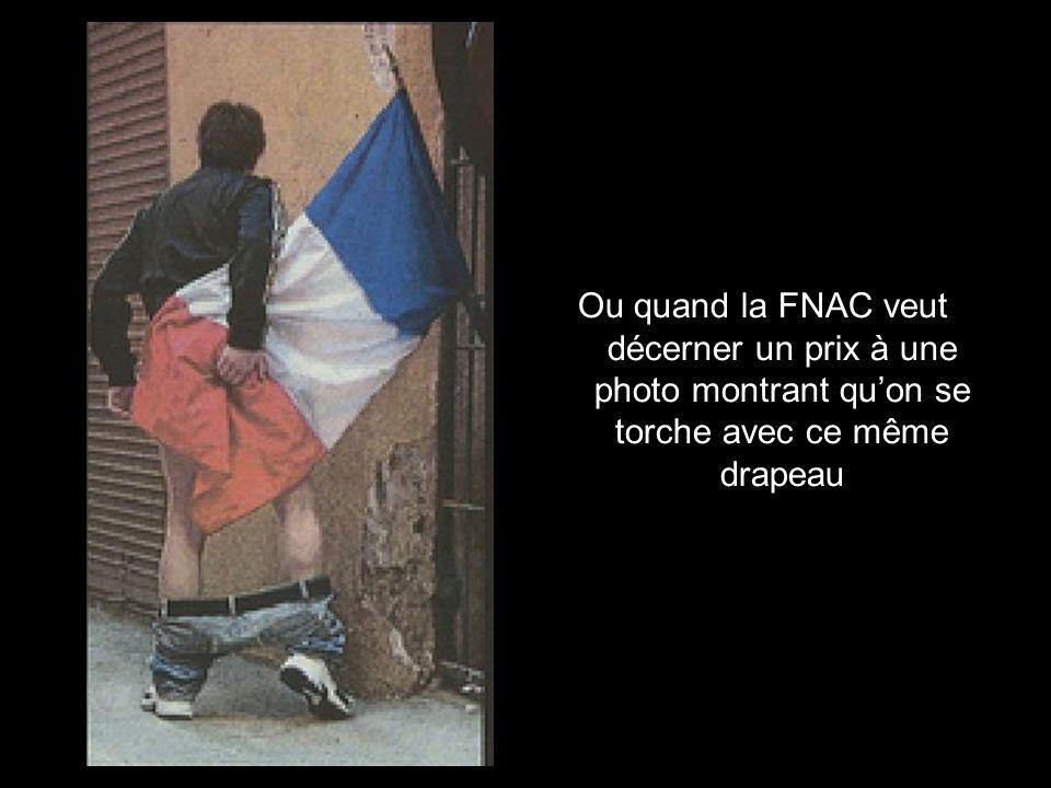 Pas un na levé le petit doigt quand on a brûlé le drapeau national à Toulouse