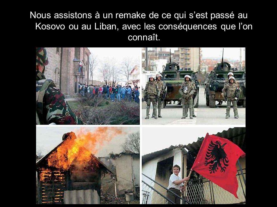 Nous assistons à une rébellion à caractère ethnique et/ou religieux, à des attaques dirigées par des résidents minoritaires contre une partie de la po