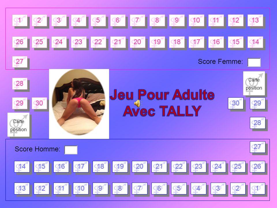 Tirer une carte Position et l exécuter Pendant 120 secondes Cliquez ici Cliquez ici pour tirer une carte « Position » Cliquez ici Cliquez ici pour le compte à rebours Retour Plateau