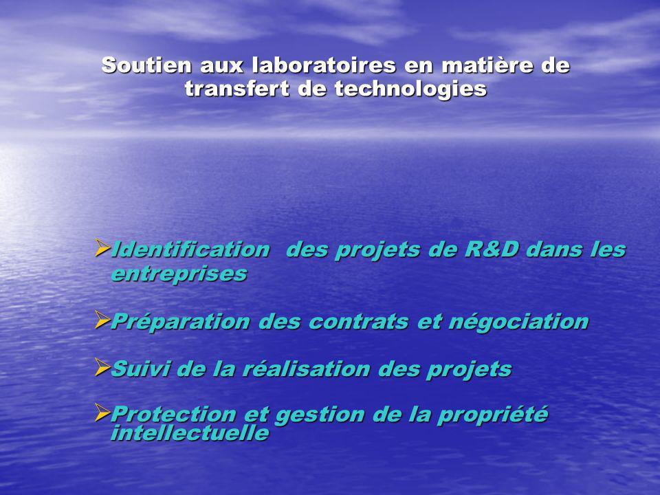Le CIT: un laboratoire de recherche sur linnovation (suite 2) Synthétiser les résultats des études menées au CIT, après un horizon de temps de trois ans, pour concevoir une structure de valorisation de lUM5A appropriée au contexte socio-économique marocain et respectant la loi 01-00.
